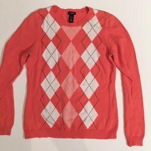 Sweater - Salmon Color - Izod